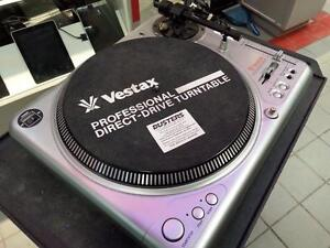 Vestax Turntable. We sell used DJ Equipment. We carry Receivers, Equalizers, Amplifiers, Passive Speakers (#41849)