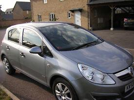 Vauxhall Corsa 1.3CDTi ecoFLEX Breeze.5 Doors .Manual.Diesel. Grey. Low mileage.Annual TAX only £30.