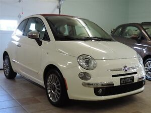 2012 Fiat 500C Lounge CUIR ROUGE SPORT PACKAGE