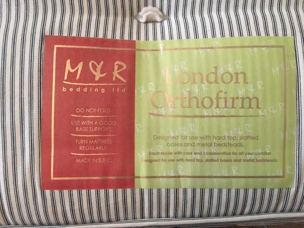 M&R Orthopedic Bed, excellent condition