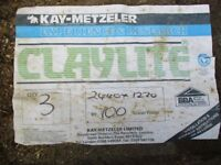 Claylite sheets