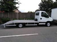 Recovery truck pick up cars