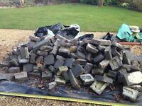Quantity of old broken bricks - free