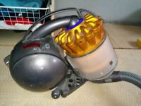 dyson DC39 vacuum cleaner, hoover. Good working order with brush attachment and long pole. 1300watts