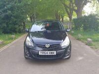 2014 Vauxhall Corsa Black Edition 1.4 Petrol Turbo Sat Nav