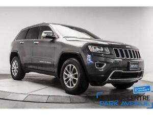 2016 Jeep Grand Cherokee Limited, AWD, CUIR, TOIT,