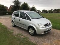 2004/54 Vauxhall Meriva 1.4 life only 76000 miles from new
