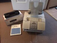 Canon L280/200 Fax Machine + New Canon FX3 Ink Cartridge