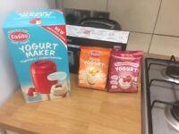 Easyio yogurt maker with x2 packs