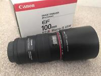 Canon 100mm f2.8 L Macro IS USM