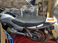 Honda CG125 Silver low mileage.