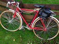 Vintage pedal bikes