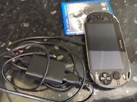 PS vita with 2 days and excellent condition