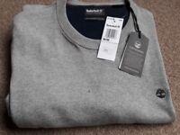 Timberland Grey jumper brand new