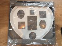 Next home heart shaped collage frame