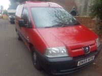 PEUGEOT EXPERT 3 SEATER WITH SERVICE HISTORY