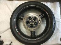 Suzuki Bandit 1200 rear wheel and tyre