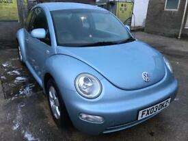 VW Beetle 1.6 2003 LOW MILEAGE