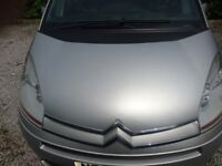 CITROEN C4 GRAND PICASSO SILVER 2.0 HDI AUTO breaking spare parts door wing engine gearbox