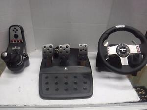 Logitech PC Steering Wheel. We Buy and Sell Used Video Games and Consoles. 114817