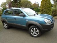 Hyundai Tucson 2006 1975 petrol good condition blue