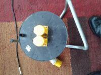110 volt extension lead twin sockets 90 feet long