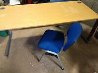 Large Office Desk and Chair