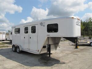 2016 Merhow 2 Horse Straight Load Alumastar Peterborough Peterborough Area image 1