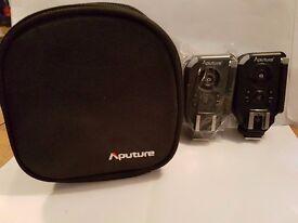 Aputure 2.4G Trigmaster Plus II Transceiver & Receiver For DSLR Cameras