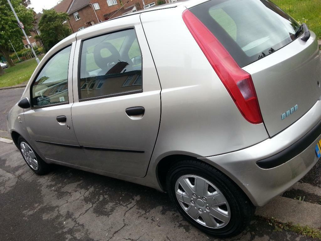 52 Plate Fiat Punto Full Service History In Westbury On