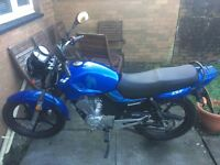 Lexmoto zsf 125 6 months old from new very good condition