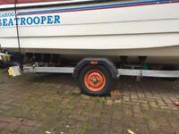 SNIPE ROLLERCOASTER BOAT TRAILER