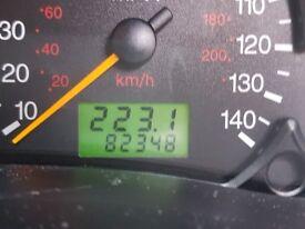 Ford Focus 1.6 LX 5 door 82000 miles