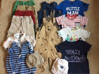 Baby boy clothes in excellent condition including some designer brands (12-18 months)
