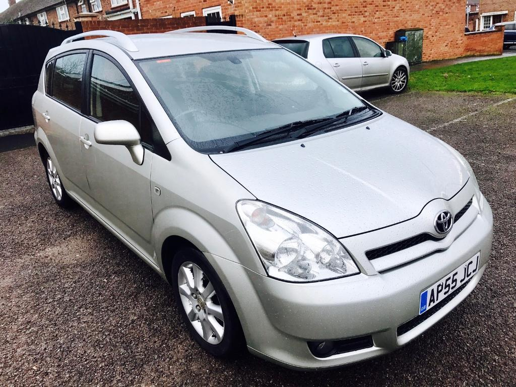 toyota corolla verso 2005 manual 7 seat diesel mot f srv hstry 2 keys great family car. Black Bedroom Furniture Sets. Home Design Ideas