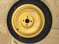 Honda Space saver spare wheel