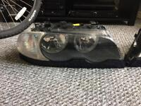 BMW e46 coupe headlights