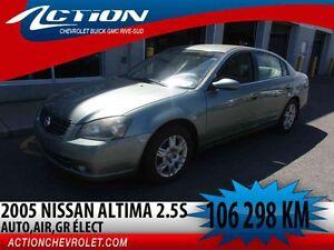 2005 Nissan Altima 2.5 S,AUTO,AIR,GR ÉLECT