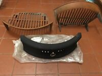 Brand New 18inch Fire Front & 2 Fire Grates