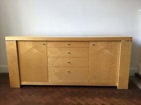 Strata Sideboard with two cupboards and 4 drawers