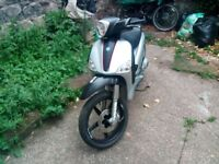 PIAGGIO LIBERTY 125 (£450 OR SWAPS 50CC SCOOTER OR GEARED 125)