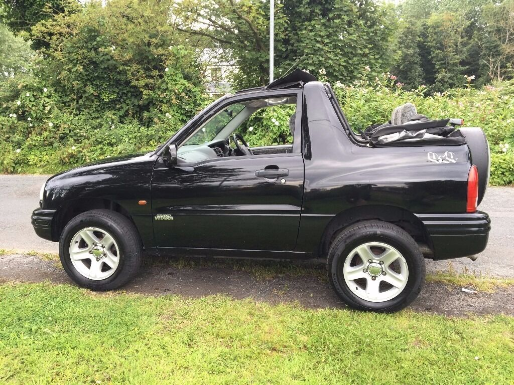 2004 excellent condition suzuki 4x4 grand vitara sport convertible 1 6cc petrol mot mar 2017. Black Bedroom Furniture Sets. Home Design Ideas