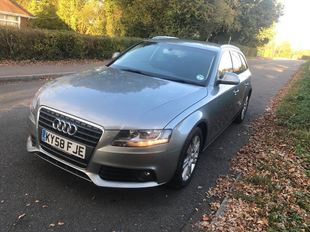 2009 Audi A4 avant 2.0 tdi se 5dr 1 year mot Low Mileage 85000 Excellent condition