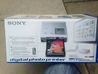 SONY DIGITAL PHOTO PRINTER DPP-FP50