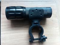 3000LM Torch + Bike Headlight Holding Frame