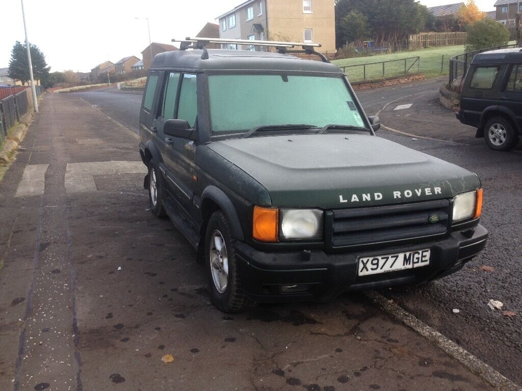 landrover discovery td5, X reg, half leather, mot march, 110k miles £1150 kilmarnock
