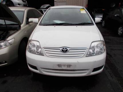 Toyota Corolla ZZE12 2004 parts for sale!!