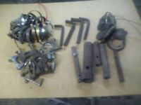 assorted tools ,box spanners ,allen keys etc .