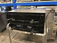 Ravelle Commercial Twin Decked Pizza Oven (made in Britain)