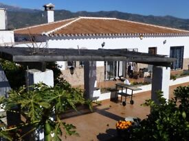 Spanish 4 bedroom villa available for medium term rental in Malaga